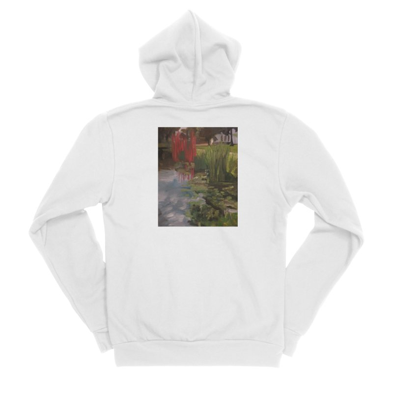 """""""Chihuly Sculpture and Water Lilies at the VMFA"""" Women's Zip-Up Hoody by NatalieGatesArt's Shop"""
