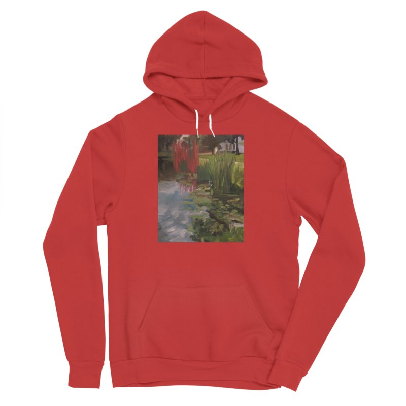 """""""Chihuly Sculpture and Water Lilies at the VMFA"""" Women's Sponge Fleece Pullover Hoody by NatalieGatesArt's Shop"""