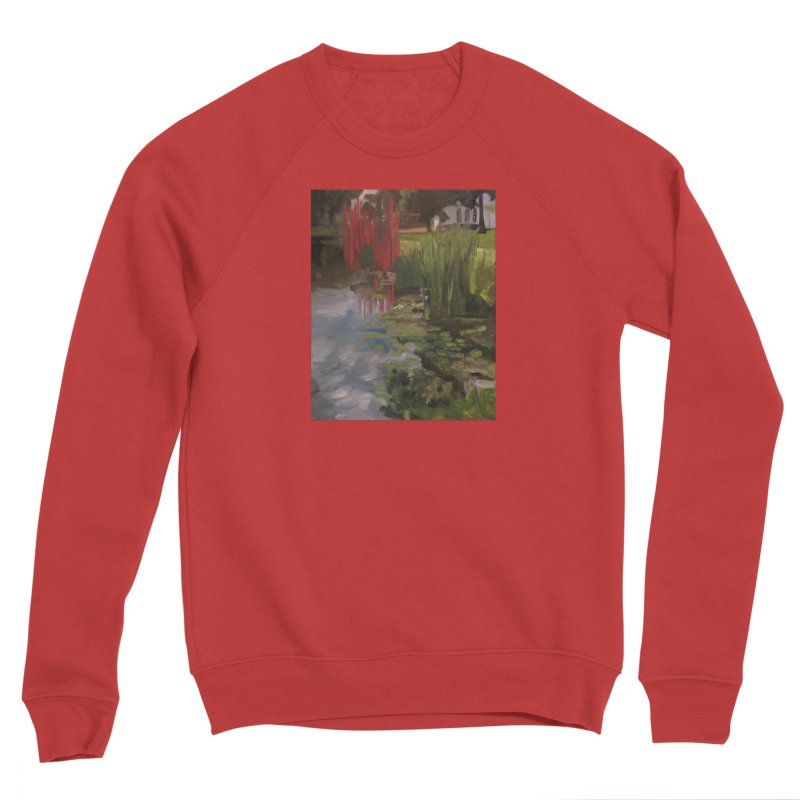 """""""Chihuly Sculpture and Water Lilies at the VMFA"""" Women's Sponge Fleece Sweatshirt by NatalieGatesArt's Shop"""