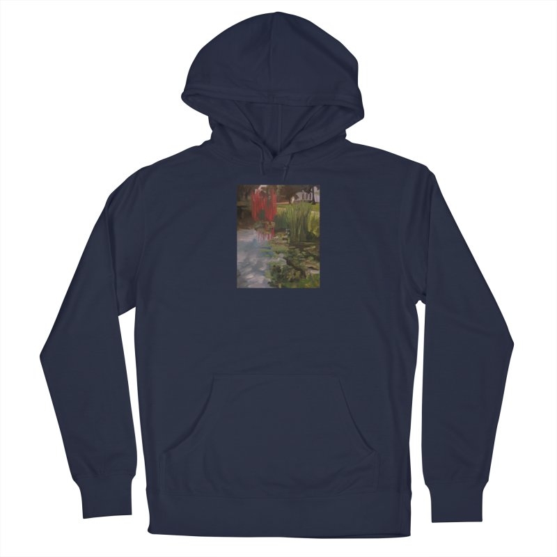 """""""Chihuly Sculpture and Water Lilies at the VMFA"""" Men's Pullover Hoody by NatalieGatesArt's Shop"""