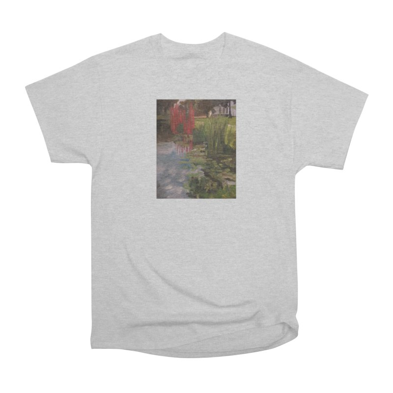 """Chihuly Sculpture and Water Lilies at the VMFA"" Women's Heavyweight Unisex T-Shirt by NatalieGatesArt's Shop"