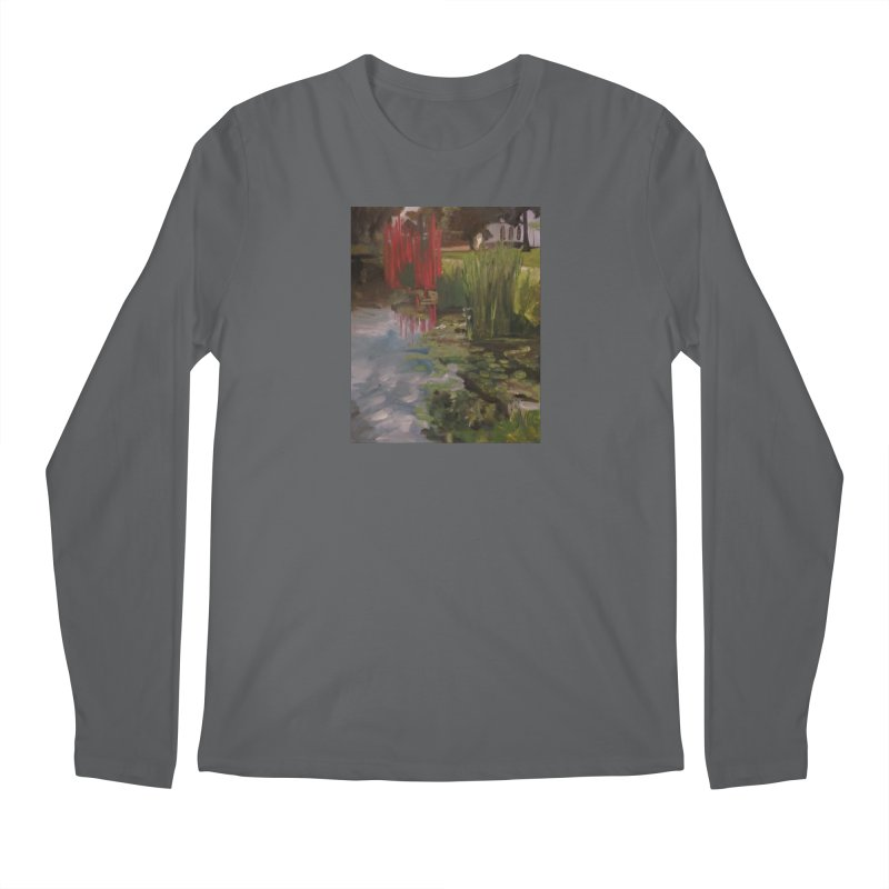"""Chihuly Sculpture and Water Lilies at the VMFA"" Men's Regular Longsleeve T-Shirt by NatalieGatesArt's Shop"