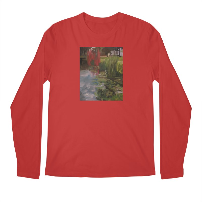 """""""Chihuly Sculpture and Water Lilies at the VMFA"""" Men's Regular Longsleeve T-Shirt by NatalieGatesArt's Shop"""