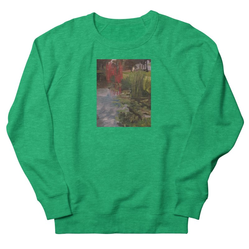 """""""Chihuly Sculpture and Water Lilies at the VMFA"""" Women's Sweatshirt by NatalieGatesArt's Shop"""