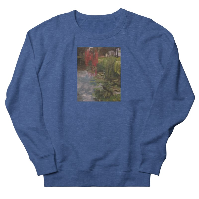 """""""Chihuly Sculpture and Water Lilies at the VMFA"""" Men's French Terry Sweatshirt by NatalieGatesArt's Shop"""