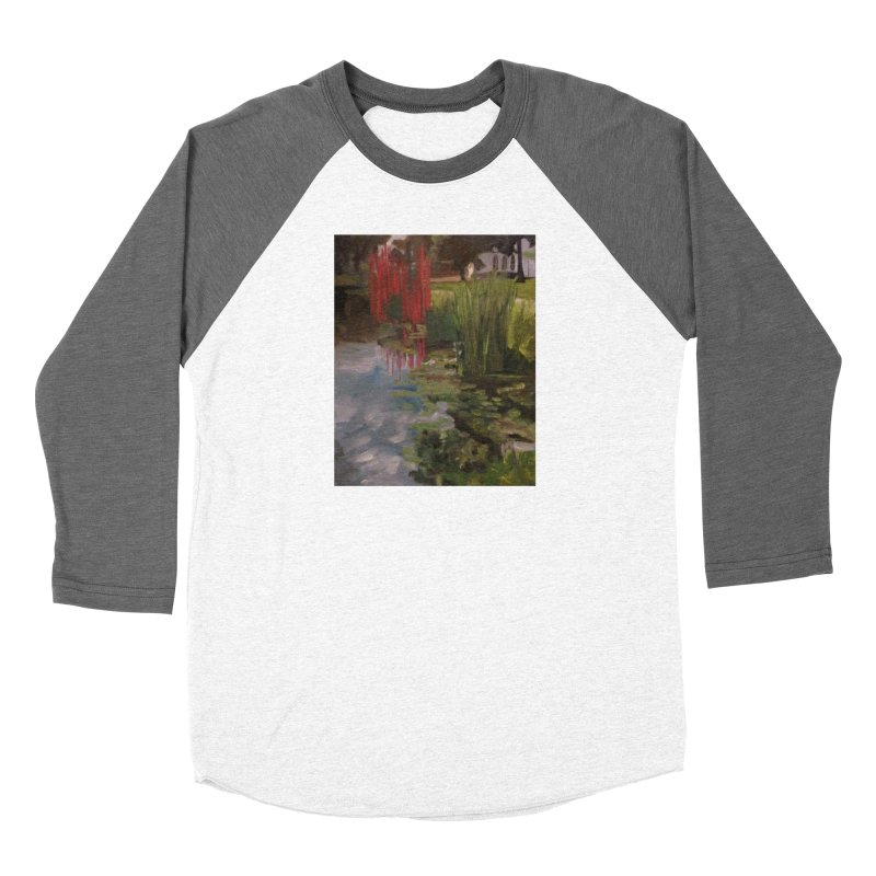 """""""Chihuly Sculpture and Water Lilies at the VMFA"""" Men's Baseball Triblend Longsleeve T-Shirt by NatalieGatesArt's Shop"""