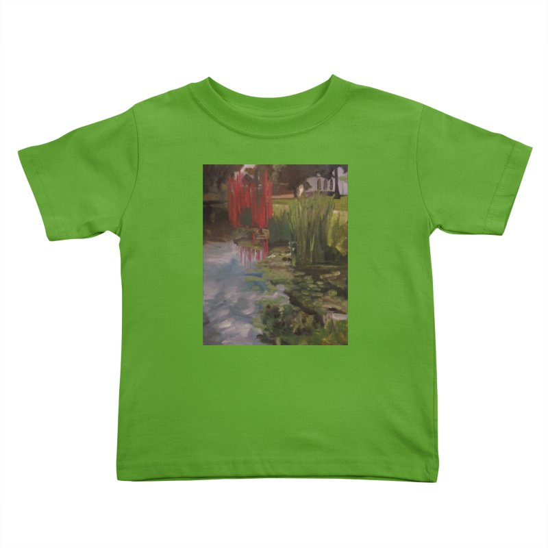 """Chihuly Sculpture and Water Lilies at the VMFA"" Kids Toddler T-Shirt by NatalieGatesArt's Shop"