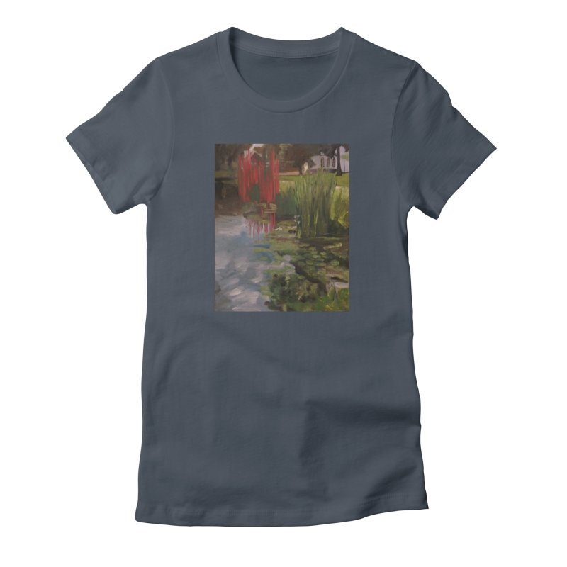 """""""Chihuly Sculpture and Water Lilies at the VMFA"""" Women's T-Shirt by NatalieGatesArt's Shop"""