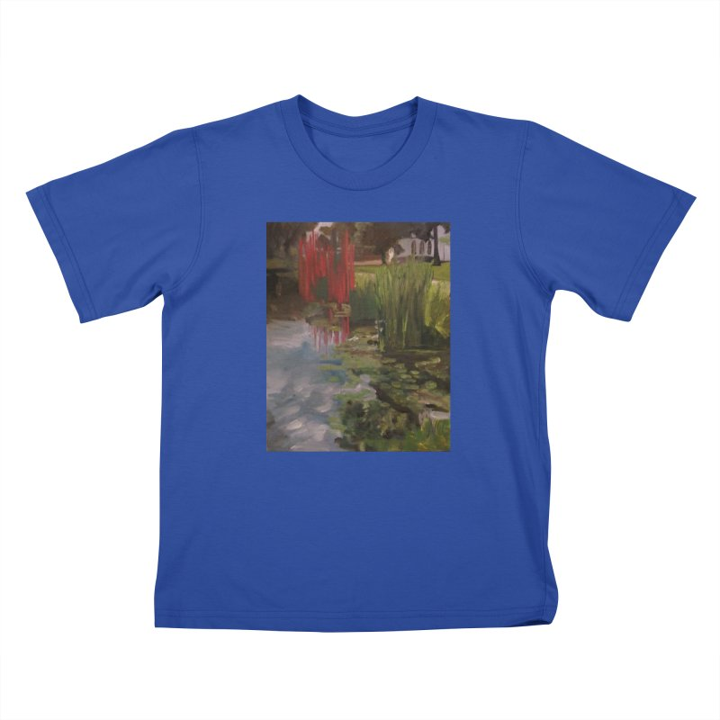 """Chihuly Sculpture and Water Lilies at the VMFA"" Kids T-Shirt by NatalieGatesArt's Shop"