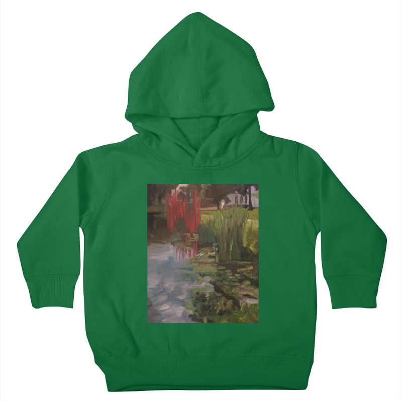 """""""Chihuly Sculpture and Water Lilies at the VMFA"""" Kids Toddler Pullover Hoody by NatalieGatesArt's Shop"""