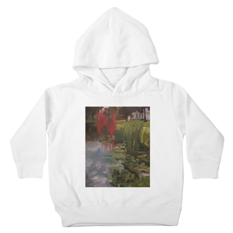 """Chihuly Sculpture and Water Lilies at the VMFA"" Kids Toddler Pullover Hoody by NatalieGatesArt's Shop"