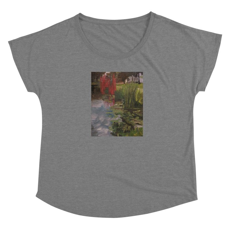 """""""Chihuly Sculpture and Water Lilies at the VMFA"""" Women's Scoop Neck by NatalieGatesArt's Shop"""