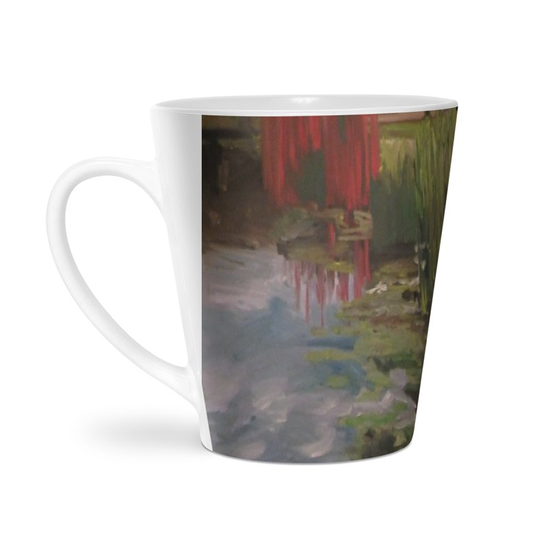 """Chihuly Sculpture and Water Lilies at the VMFA"" Accessories Latte Mug by NatalieGatesArt's Shop"