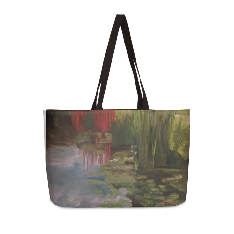 """""""Chihuly Sculpture and Water Lilies at the VMFA"""" Accessories Weekender Bag Bag by NatalieGatesArt's Shop"""