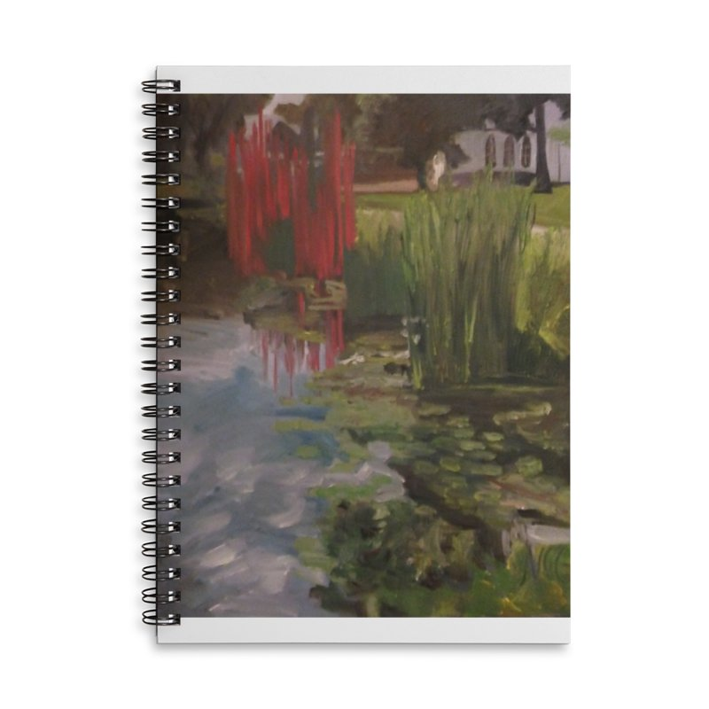 """""""Chihuly Sculpture and Water Lilies at the VMFA"""" Accessories Notebook by NatalieGatesArt's Shop"""