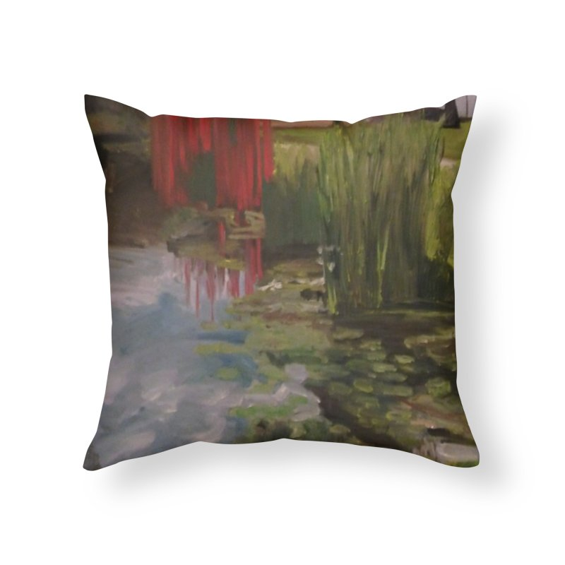"""Chihuly Sculpture and Water Lilies at the VMFA"" Home Throw Pillow by NatalieGatesArt's Shop"