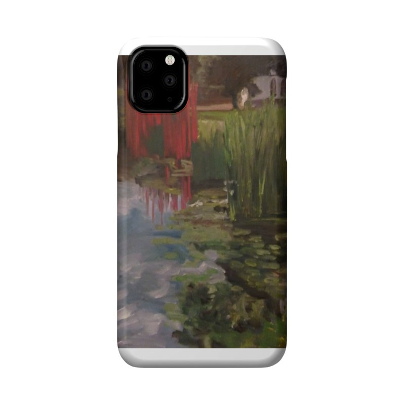 """""""Chihuly Sculpture and Water Lilies at the VMFA"""" Accessories Phone Case by NatalieGatesArt's Shop"""