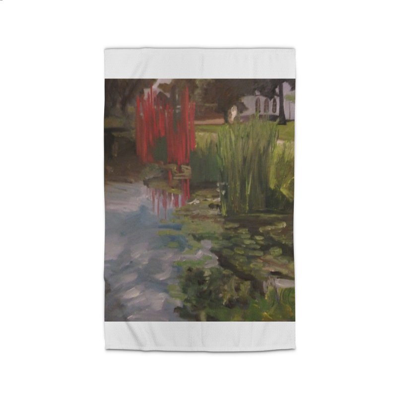 """""""Chihuly Sculpture and Water Lilies at the VMFA"""" Home Rug by NatalieGatesArt's Shop"""