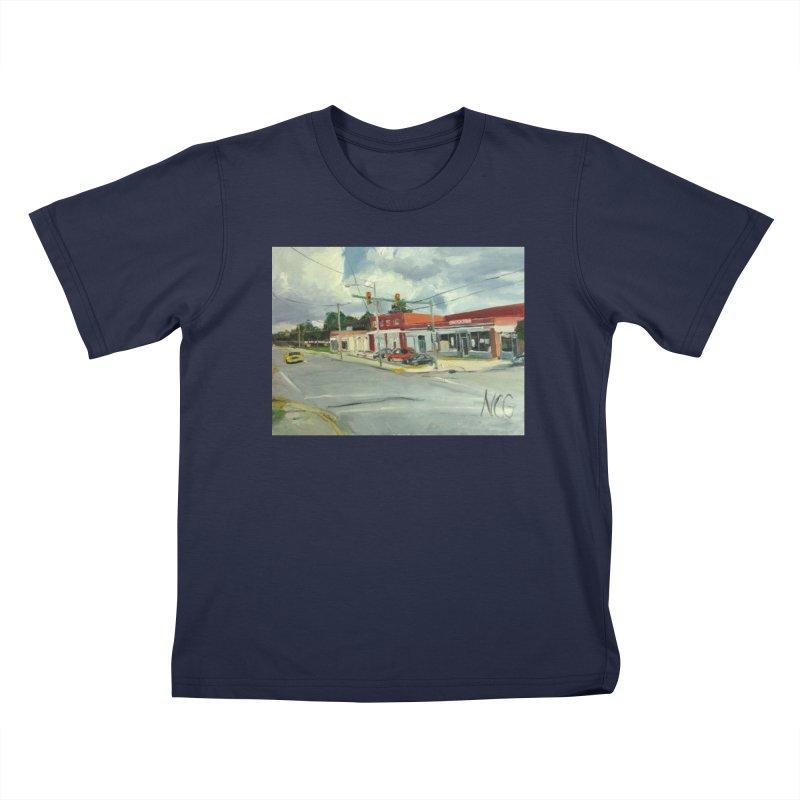 Krispies Chicken Kids T-Shirt by NatalieGatesArt's Shop