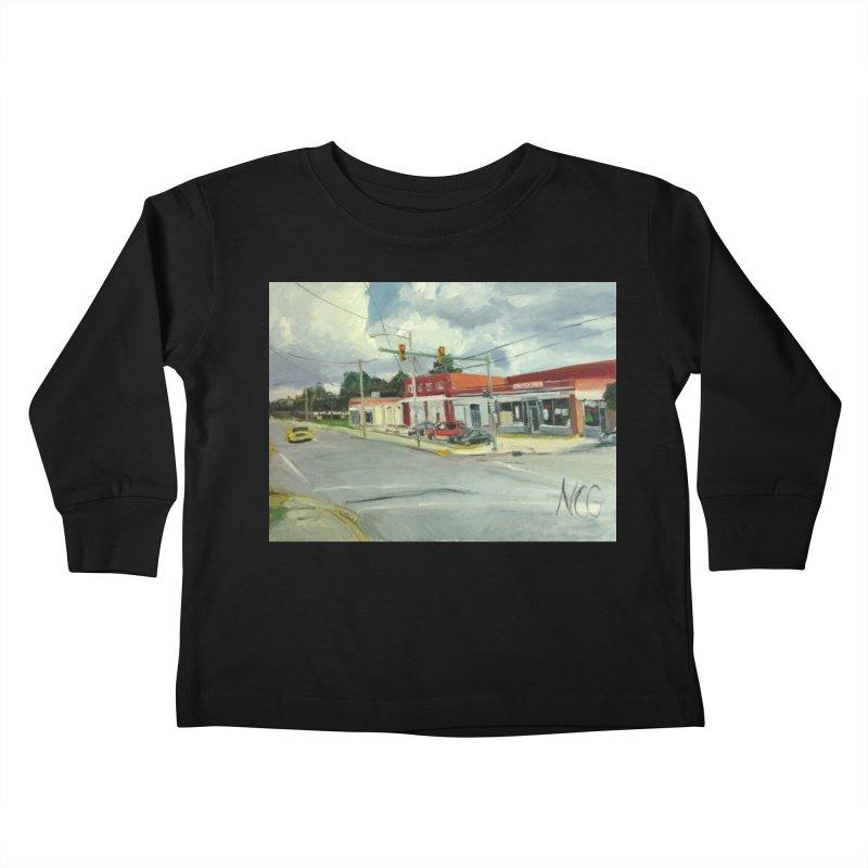 Krispies Chicken Kids Toddler Longsleeve T-Shirt by NatalieGatesArt's Shop