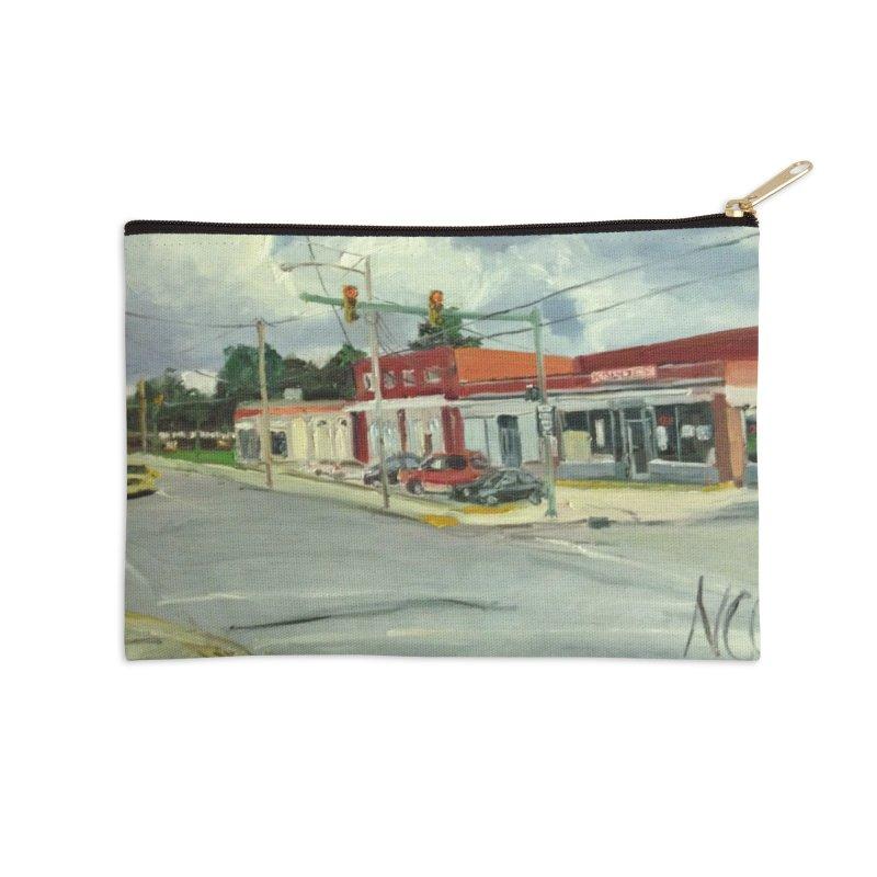 Krispies Chicken Accessories Zip Pouch by NatalieGatesArt's Shop