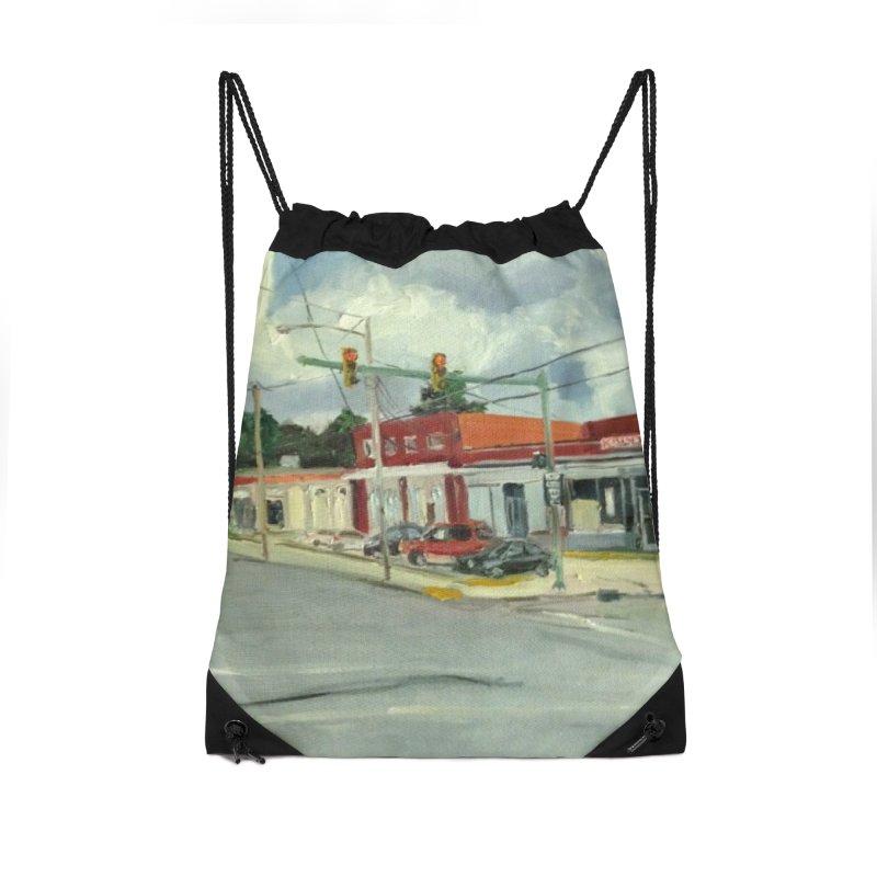 Krispies Chicken Accessories Drawstring Bag Bag by NatalieGatesArt's Shop