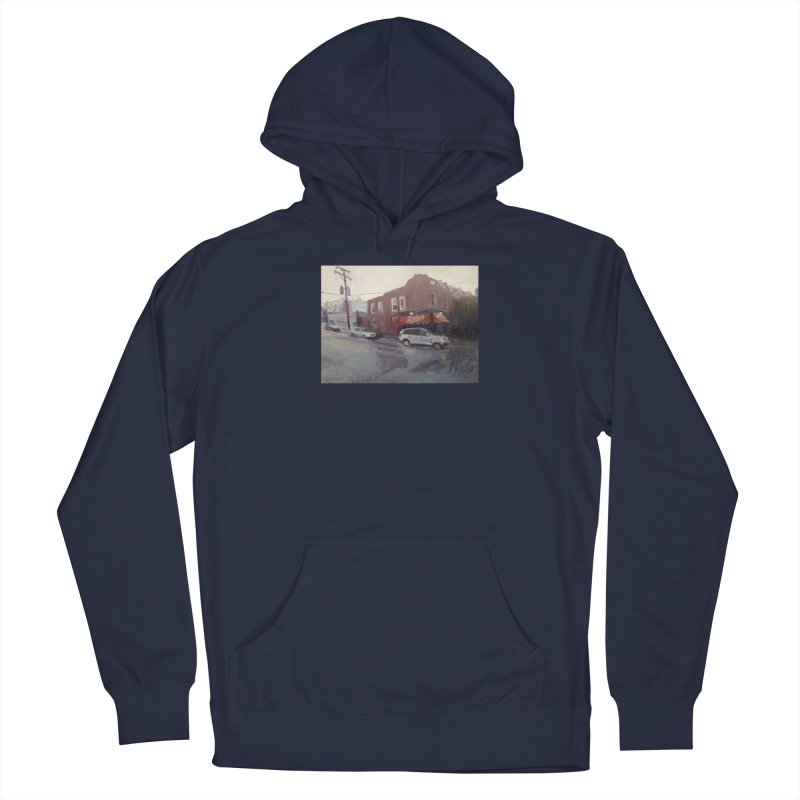 """""""Bamboo Cafe in a Summer Evening Storm"""" Men's Pullover Hoody by NatalieGatesArt's Shop"""