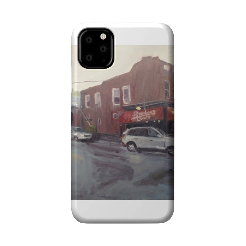 """""""Bamboo Cafe in a Summer Evening Storm"""" Accessories Phone Case by NatalieGatesArt's Shop"""
