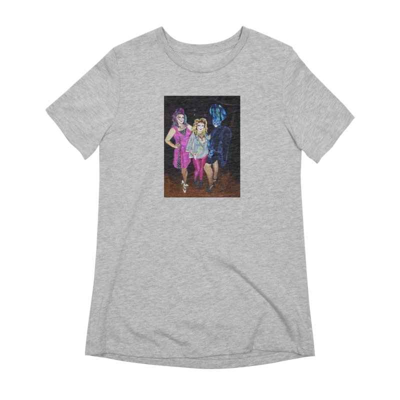 """Three Fancy Ladies"" Women's Extra Soft T-Shirt by NatalieGatesArt's Shop"
