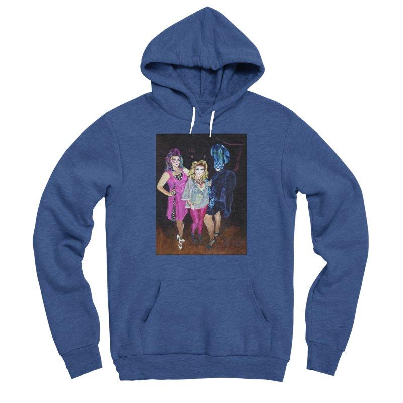 """""""Three Fancy Ladies"""" Women's Sponge Fleece Pullover Hoody by NatalieGatesArt's Shop"""