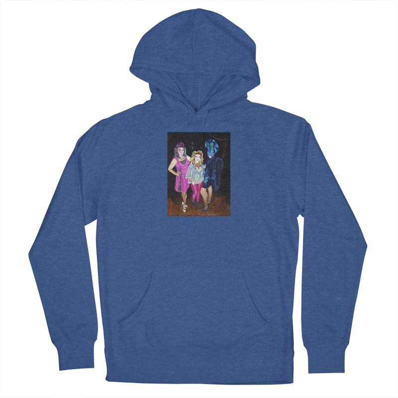 """Three Fancy Ladies"" Women's Pullover Hoody by NatalieGatesArt's Shop"