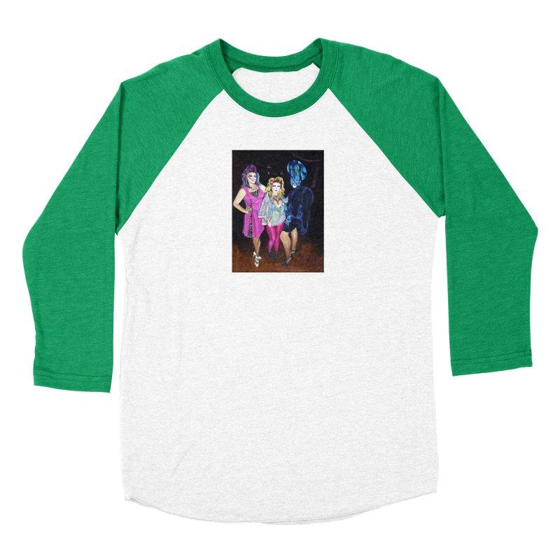 """""""Three Fancy Ladies"""" Women's Longsleeve T-Shirt by NatalieGatesArt's Shop"""