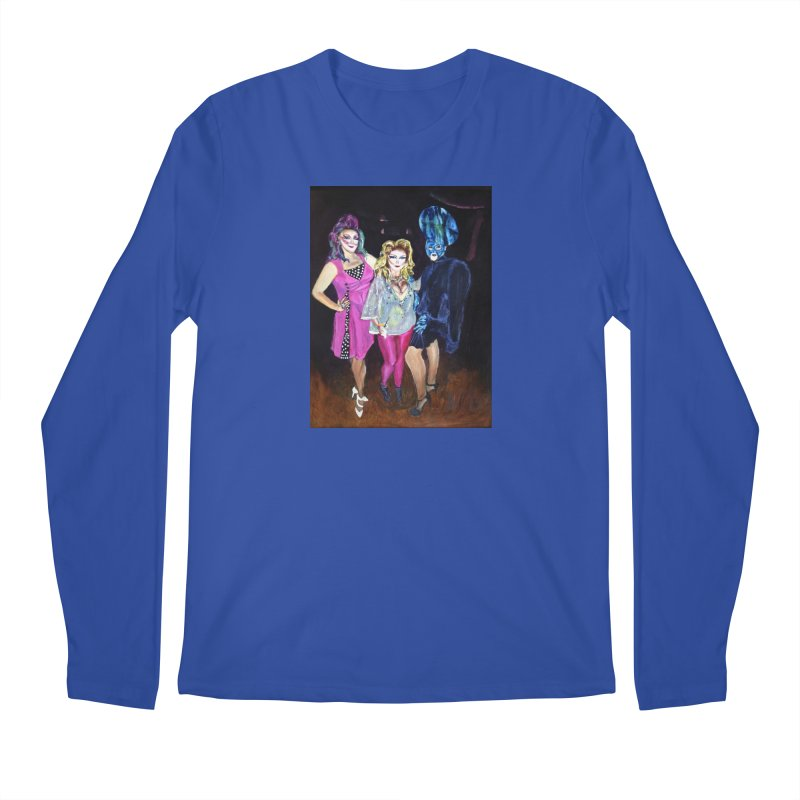 """Three Fancy Ladies"" Men's Regular Longsleeve T-Shirt by NatalieGatesArt's Shop"