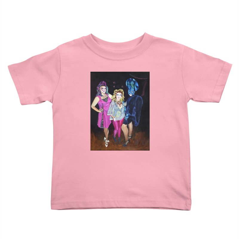 """Three Fancy Ladies"" Kids Toddler T-Shirt by NatalieGatesArt's Shop"