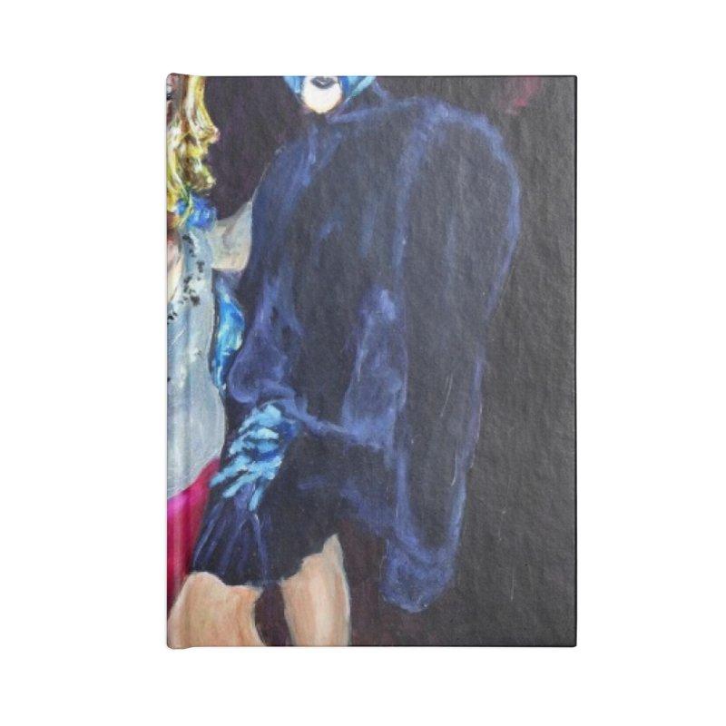 """Three Fancy Ladies"" Accessories Blank Journal Notebook by NatalieGatesArt's Shop"