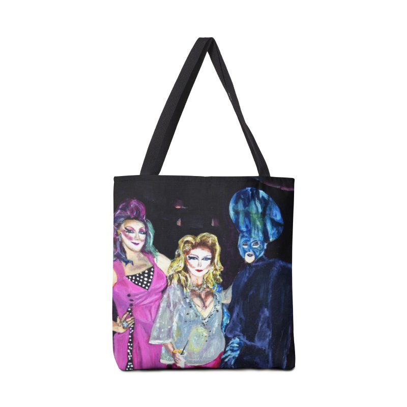 """Three Fancy Ladies"" Accessories Tote Bag Bag by NatalieGatesArt's Shop"