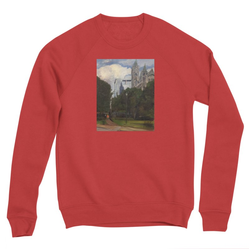Old City Hall and Reflection Women's Sponge Fleece Sweatshirt by NatalieGatesArt's Shop