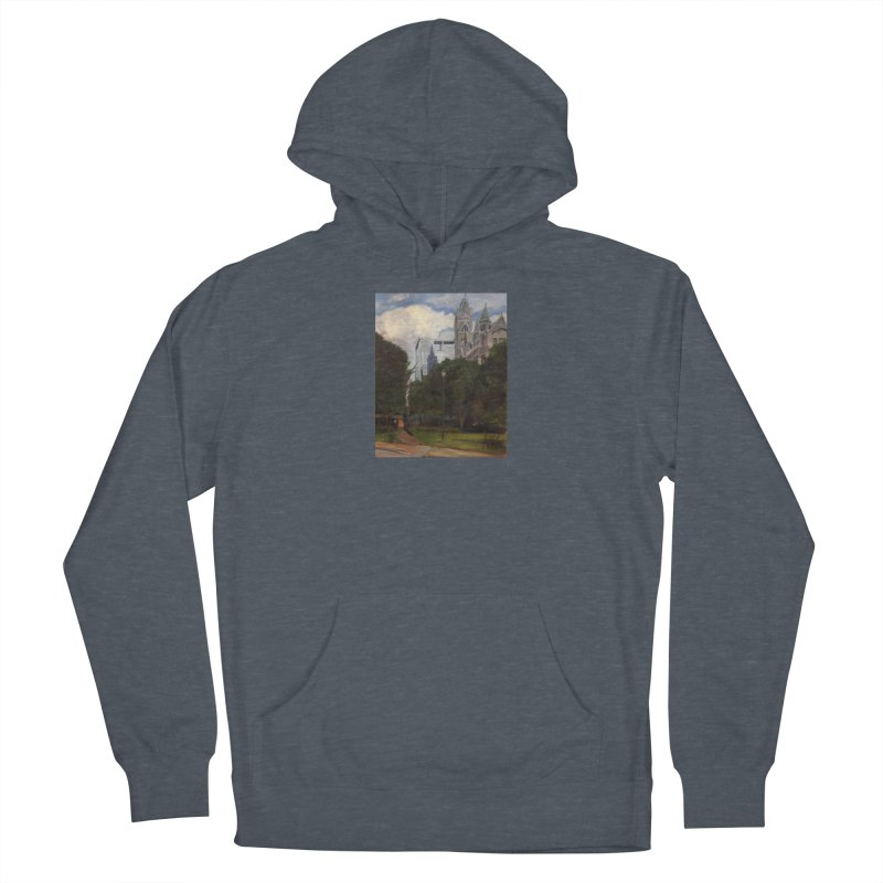 Old City Hall and Reflection Women's Pullover Hoody by NatalieGatesArt's Shop