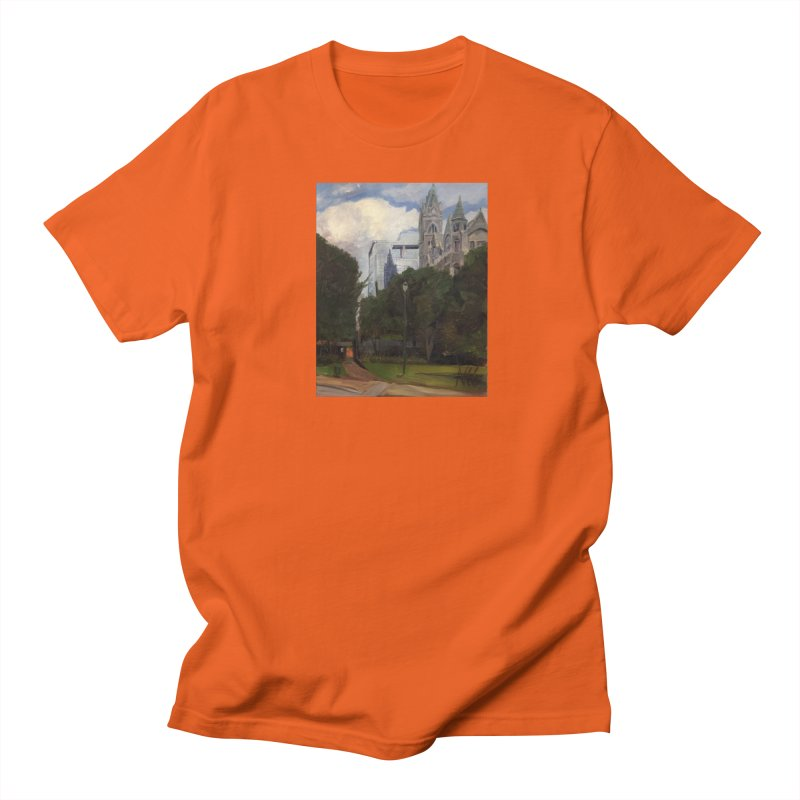 Old City Hall and Reflection Men's T-Shirt by NatalieGatesArt's Shop