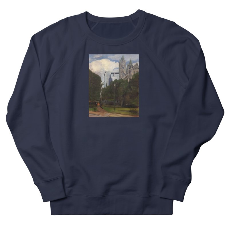 Old City Hall and Reflection Women's Sweatshirt by NatalieGatesArt's Shop