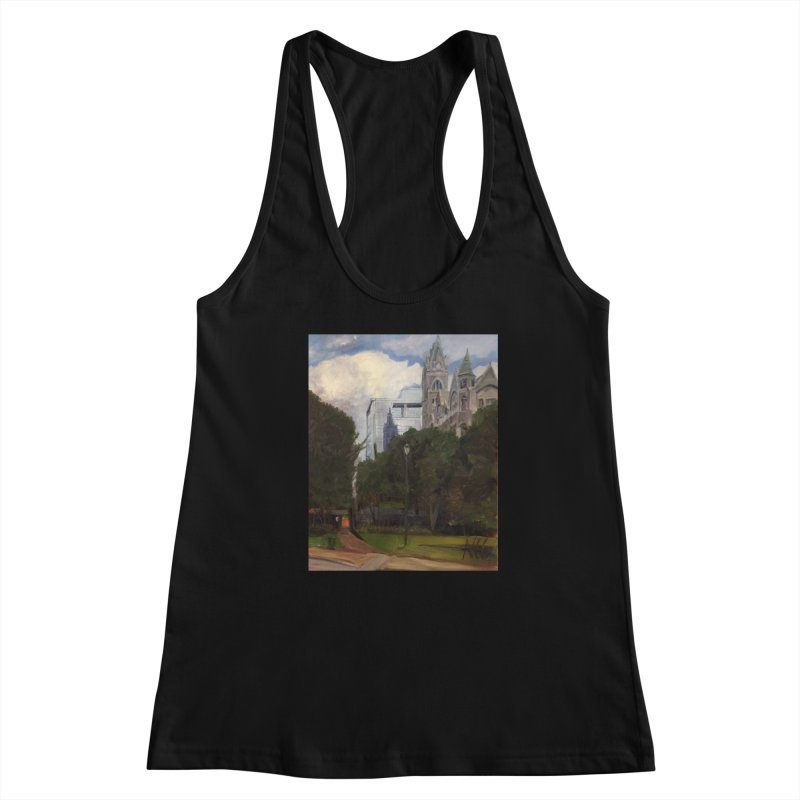 Old City Hall and Reflection Women's Tank by NatalieGatesArt's Shop