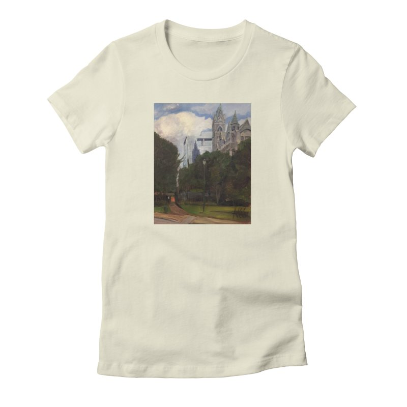 Old City Hall and Reflection Women's T-Shirt by NatalieGatesArt's Shop