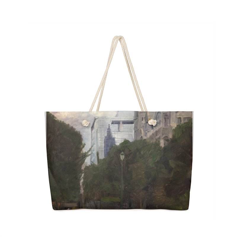 Old City Hall and Reflection Accessories Bag by NatalieGatesArt's Shop