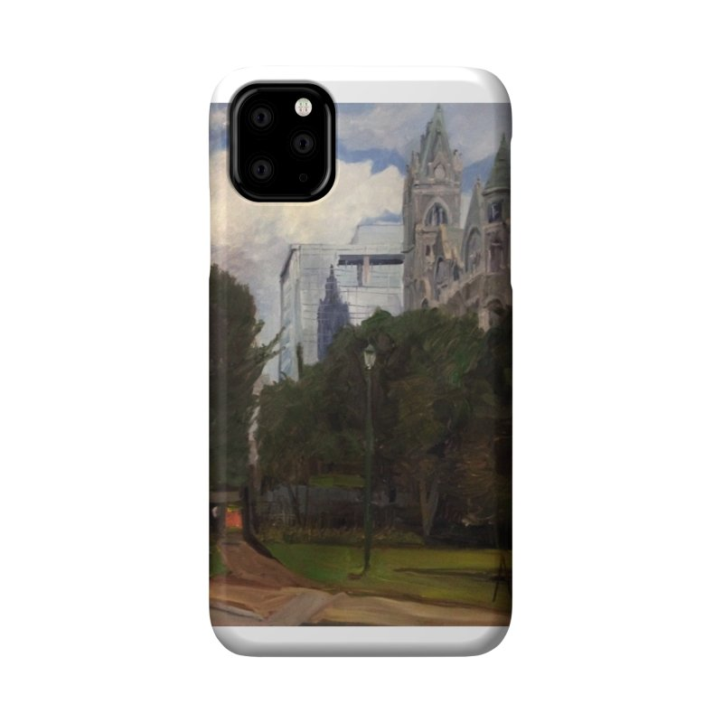 Old City Hall and Reflection Accessories Phone Case by NatalieGatesArt's Shop
