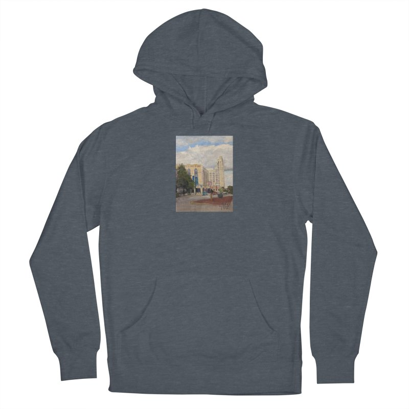 Miller and Rhoads Men's Pullover Hoody by NatalieGatesArt's Shop