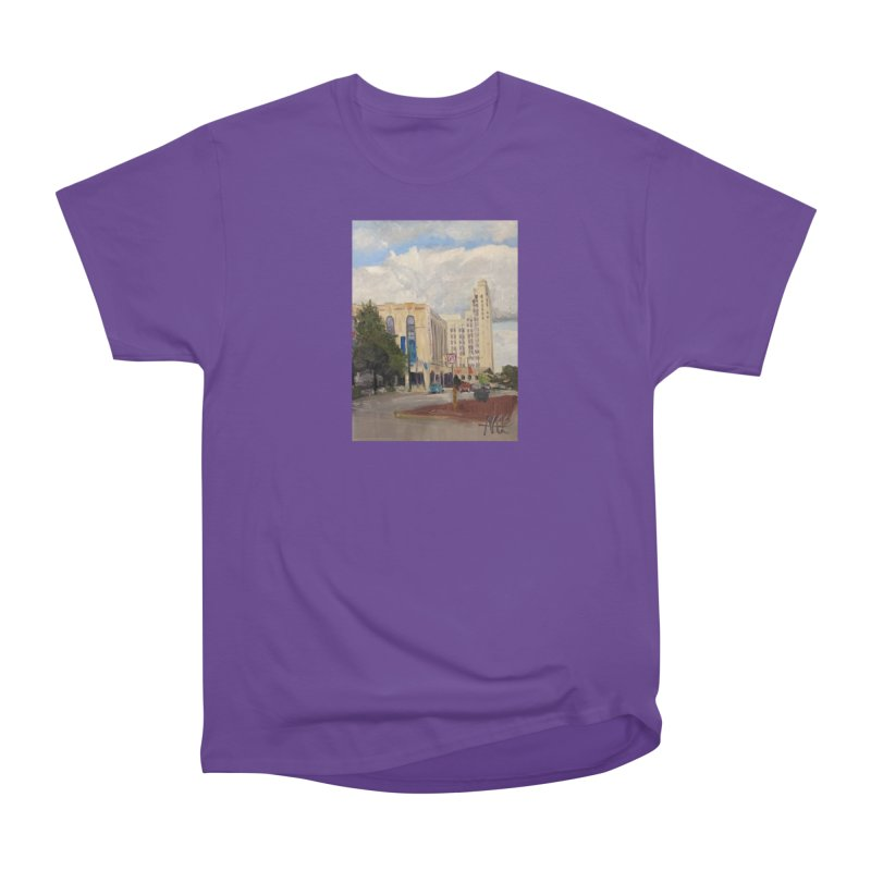 Miller and Rhoads Women's Heavyweight Unisex T-Shirt by NatalieGatesArt's Shop