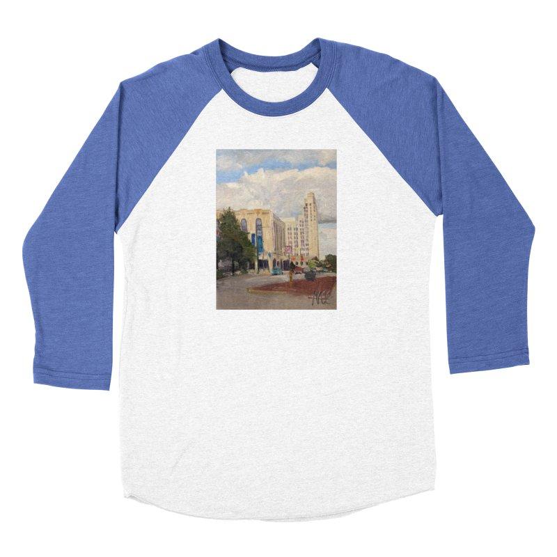 Miller and Rhoads Men's Baseball Triblend Longsleeve T-Shirt by NatalieGatesArt's Shop