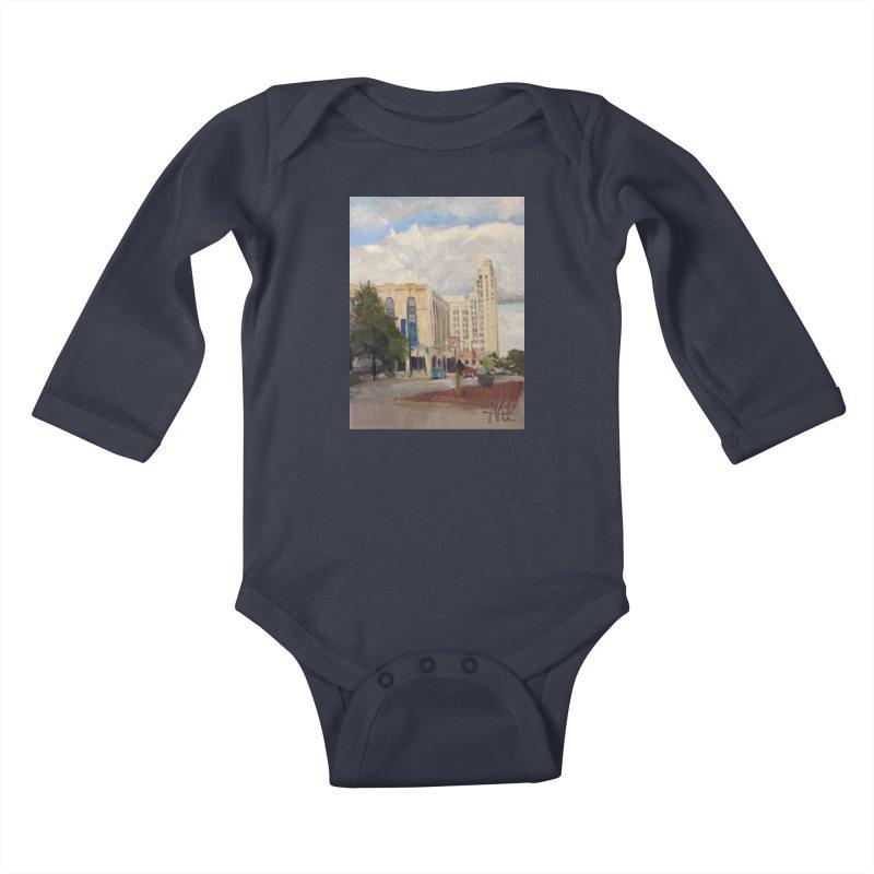Miller and Rhoads Kids Baby Longsleeve Bodysuit by NatalieGatesArt's Shop
