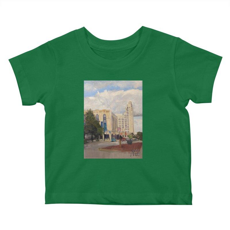 Miller and Rhoads Kids Baby T-Shirt by NatalieGatesArt's Shop