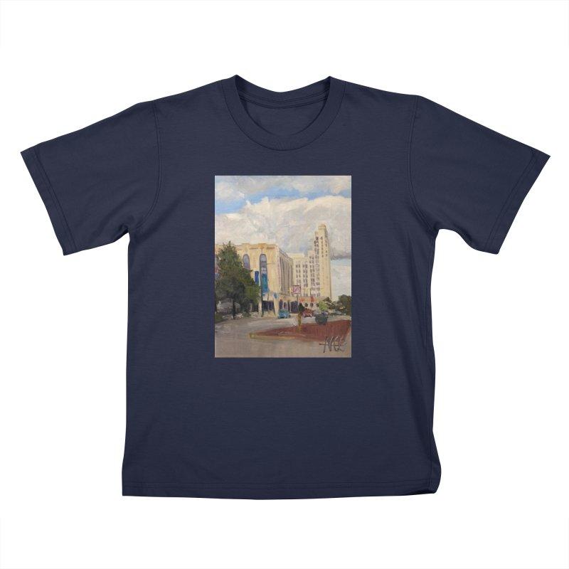 Miller and Rhoads Kids T-Shirt by NatalieGatesArt's Shop